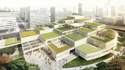 schmidt hammer lassen Designs Cultural Hub for Ningbo's Labour Union