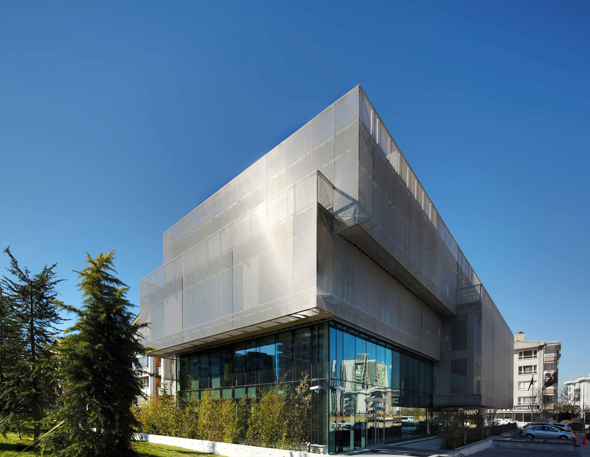 Turkish Contractor's Associaton HQ  / AVCI Architects , © Yunus Özkazanç