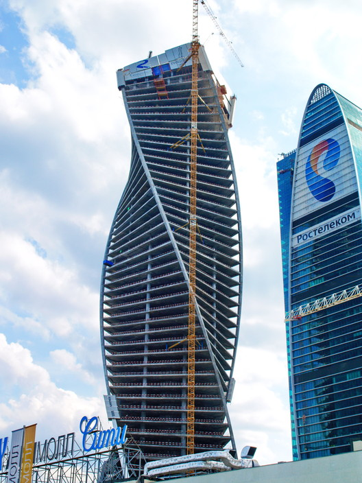 Evolution Tower, Moscow. Image © Igor Butyrskii