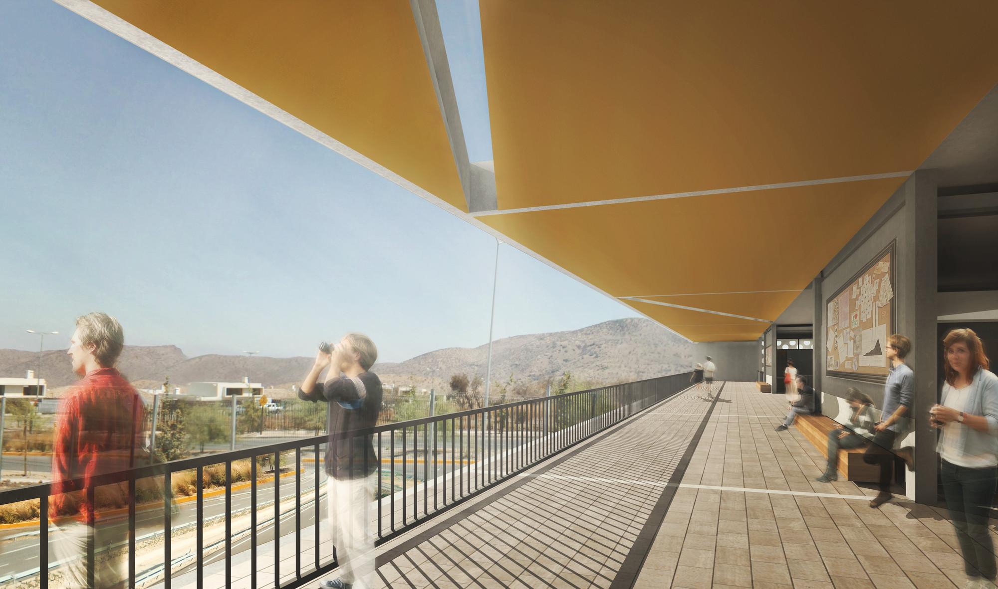 Mirador. Image Courtesy of MasFernandez Arquitectos