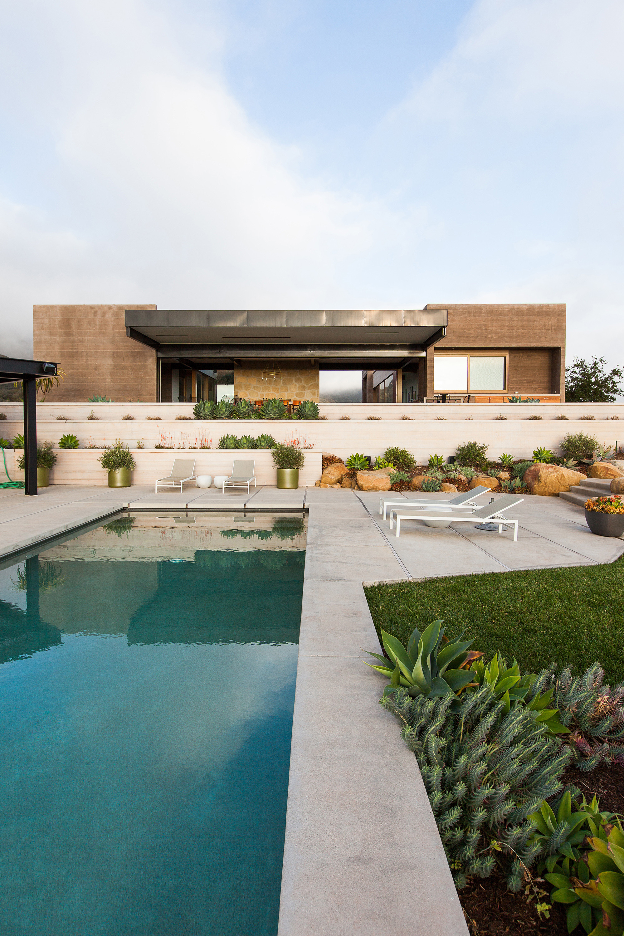 Gallery of toro canyon house bestor architecture 15 for Architecture de jardin