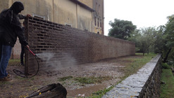 Watch How These South American Architects Construct a Brickless Brick Wall