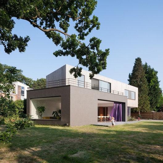 Wedge House / SOUP Architects Ltd. Image © Andy Matthews