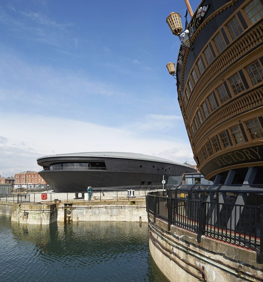 Mary Rose Museum / Wilkinson Eyre Architects. Image © Hufton+Crow