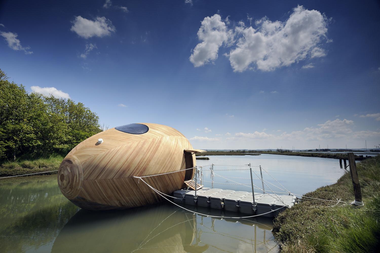 Exbury Egg / PAD Studio. Image © Nigel Rigden