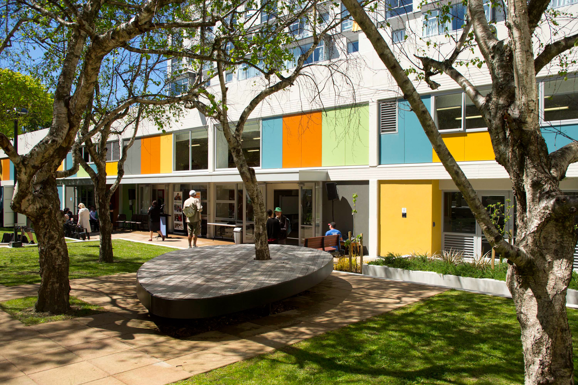 New zealand architecture awards 2014 winners announced for Apartments by central park