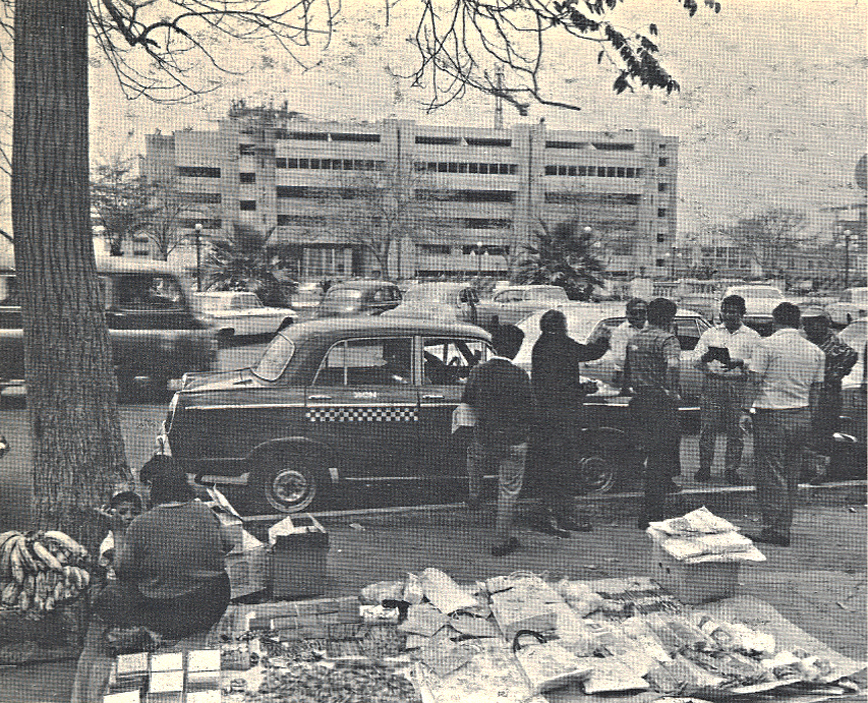 Centro de Lima en 1971. Image © Paolo Gasparini