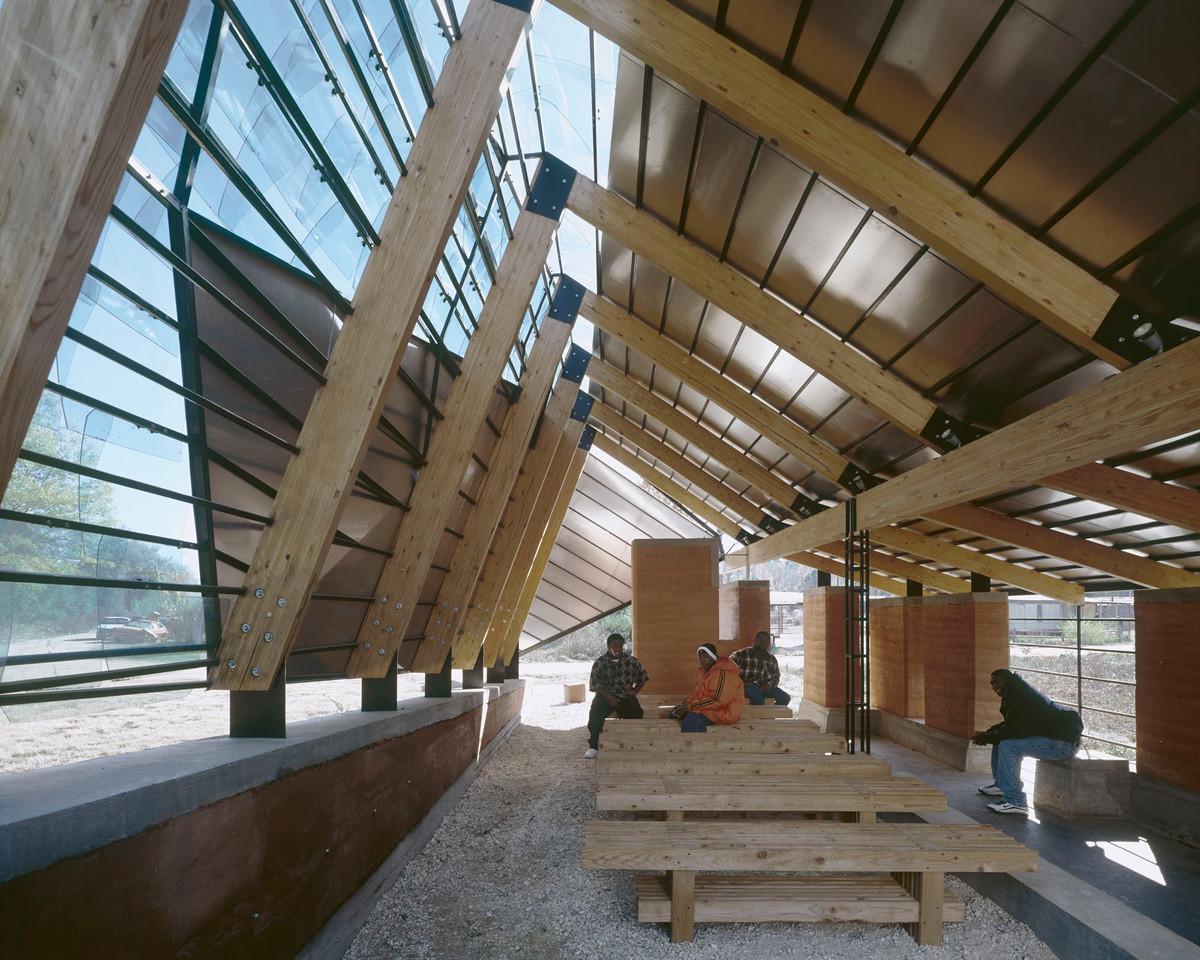 Rural Studio - Glass Chapel - 2000. Image © Timothy Hursley