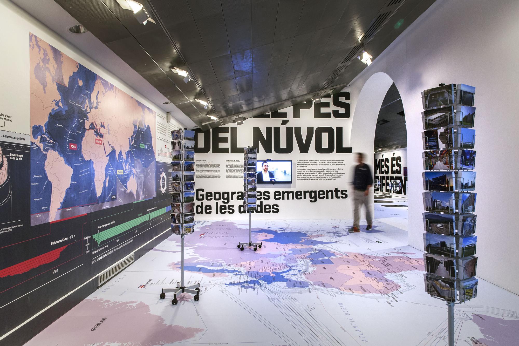 Exposición Big Bang Data en CCCB. Image © Gunnar Knechtel
