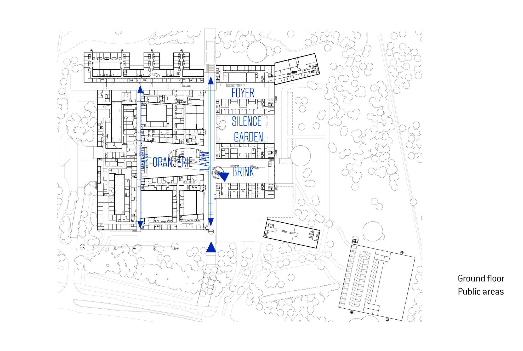 Gallery of meander medical center atelierpro 29 for Floor plans health care facilities