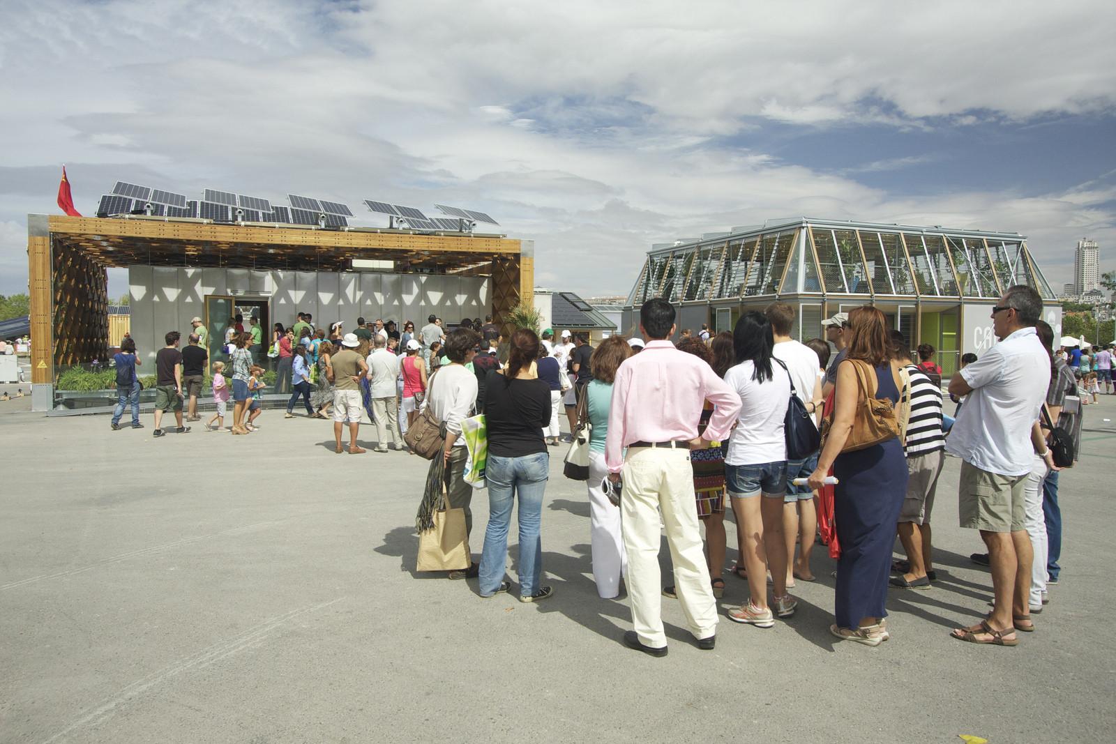 Decatlón Solar Europa 2012 en Madrid, España. Image © Vía Flickr, Usuario SDEurope