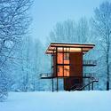 Olson Kundig, Delta Shelter, Mazama, Washington, EUA. Imagem © Olson Sundberg Kundig Allen Architects/TASCHEN