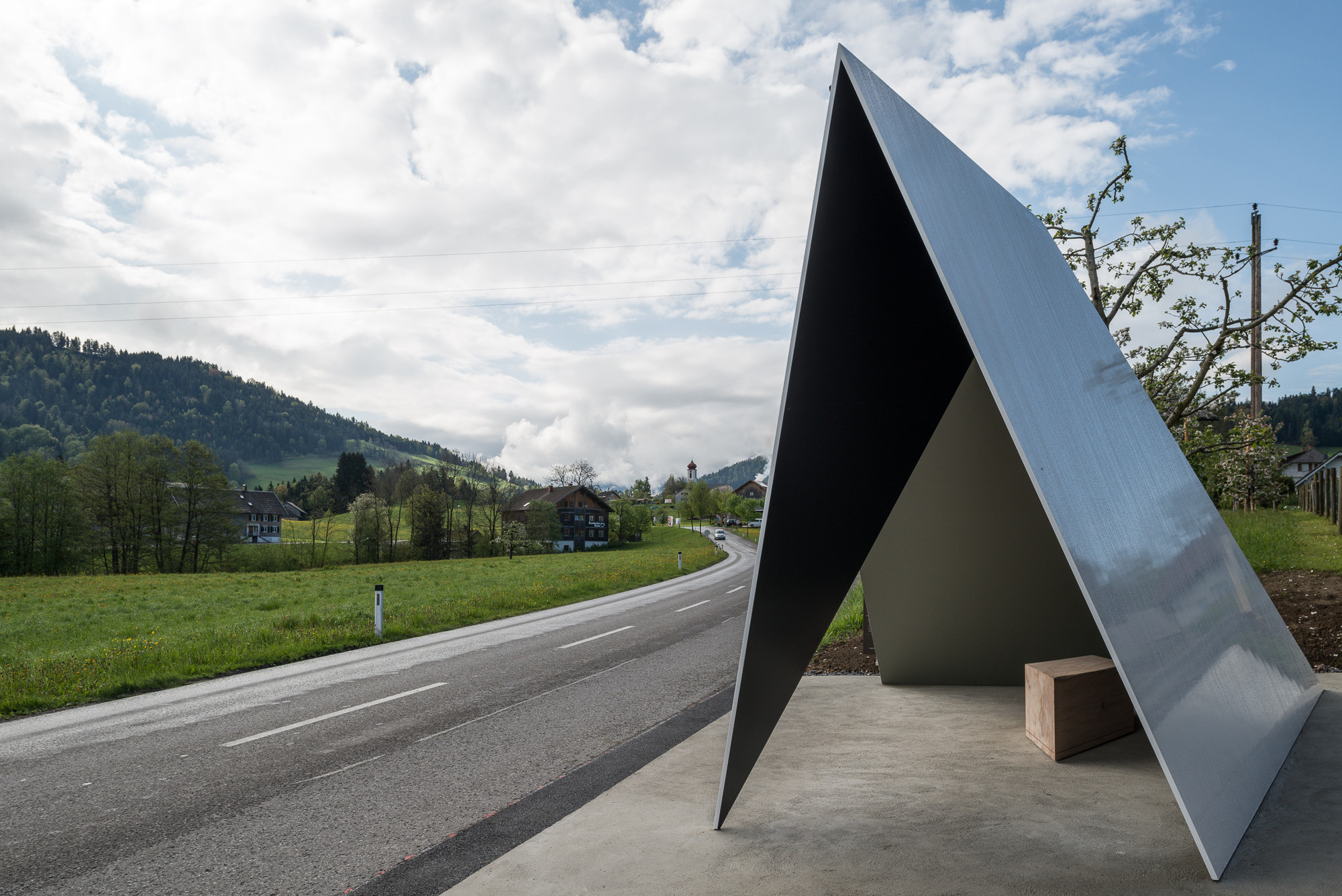 Architecten de Vylder Vinck Taillieu's BUS:STOP design. Image © Yuri Palmin