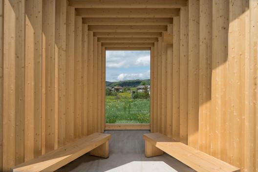 Amateur Architecture Studio's BUS:STOP design. Image © Yuri Palmin