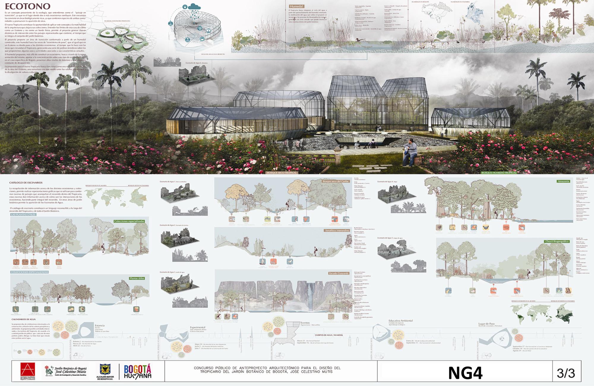 Anuncian ganadores del concurso de dise o del tropicario for 5 tecnicas de la arquitectura