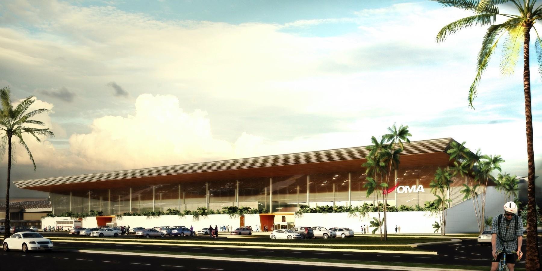 Propuesta del concurso para el nuevo Aeropuerto de Acapulco / México, Cortesía PLASTIK Arquitectos