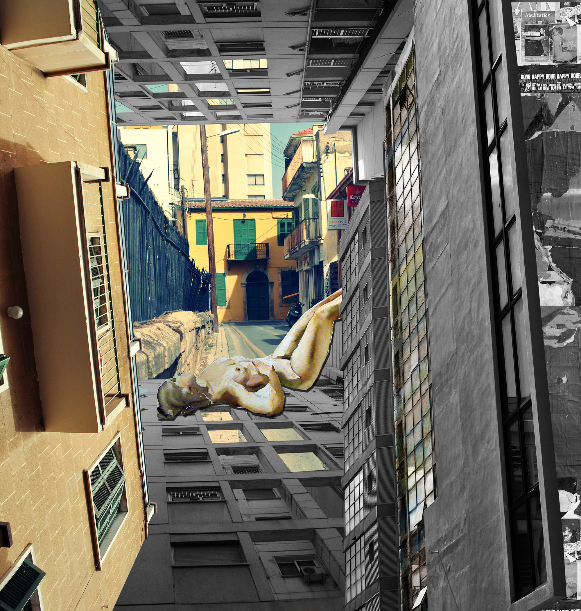© Michael Hadjistyllis, Stefanos Roimpas / Anatomía histórica mediante un collage (2014)