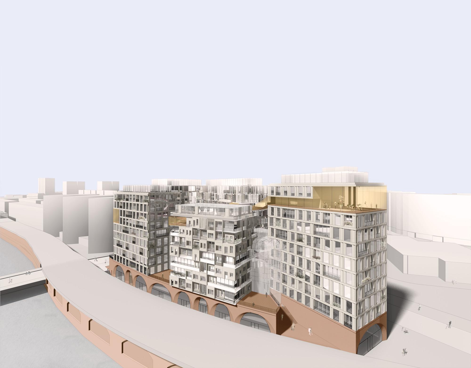 gallery of graft kleihues kleihues design work live housing in berlin 4. Black Bedroom Furniture Sets. Home Design Ideas
