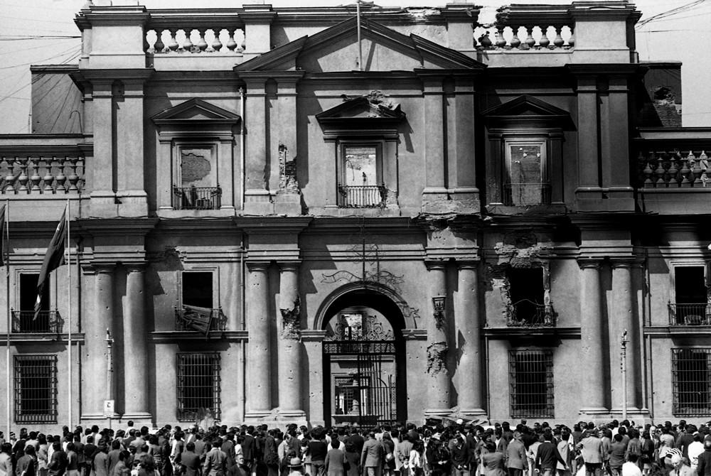 La Moneda, 1973  Luis Poirot (Chile, 1940-)  Fotografía  Archivo Fotográfico del autor. Image Courtesy of Centro Cultural La Moneda