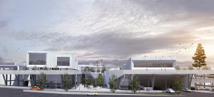 Vista desde Avenida La Marina. Image Cortesía de Claudia Oviedo Valcárcel y Ronald Soto Mendieta