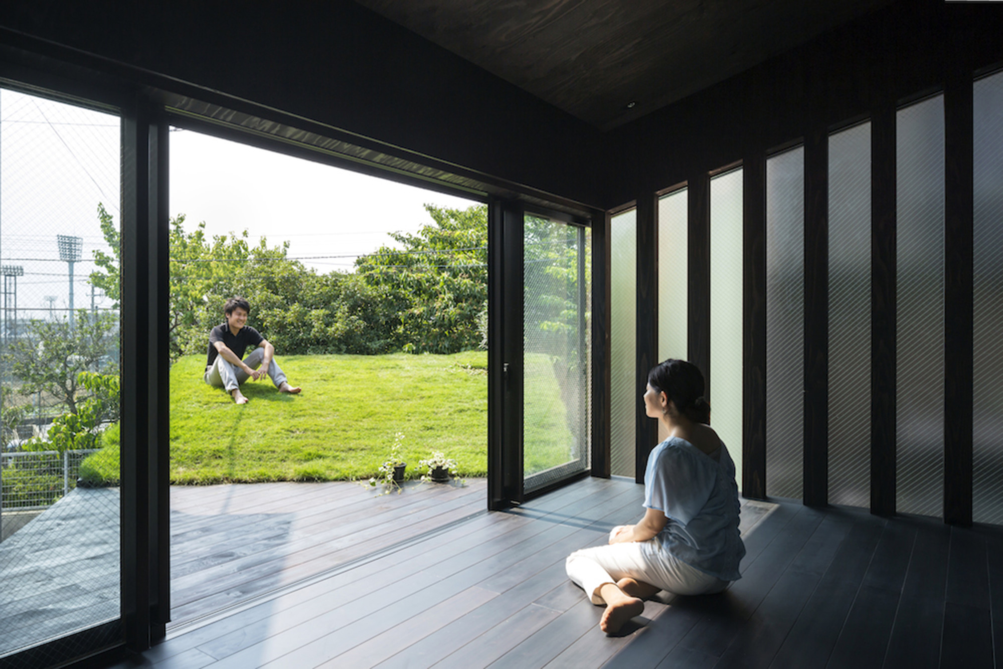Grass Cave House / Makiko Tsukada Architects, © Shinkenchiku-sha