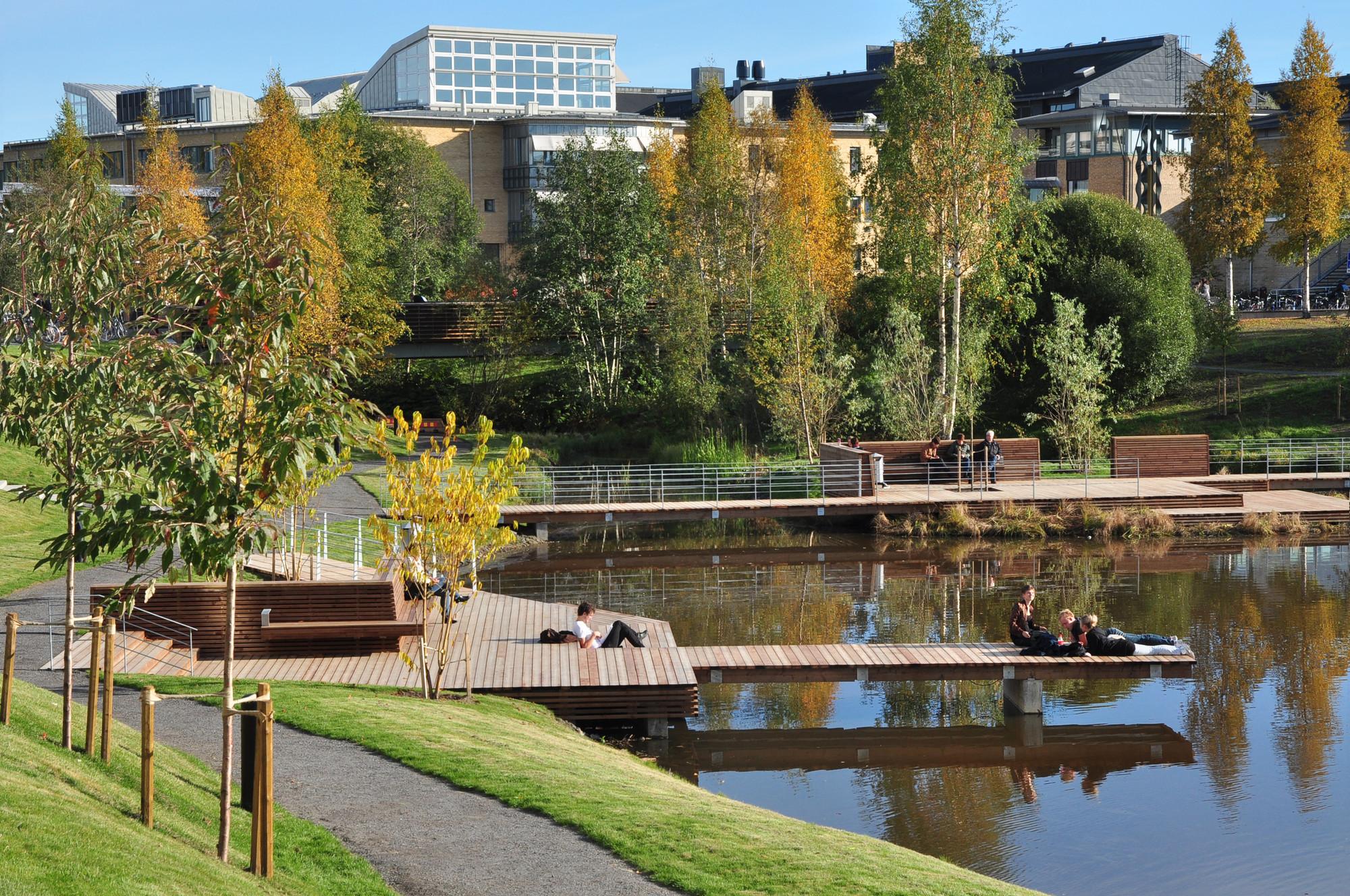 Umeå Campus Park / Thorbjörn Andersson + Sweco Architects, Courtesy of Thorbjörn Andersson + Sweco Architects