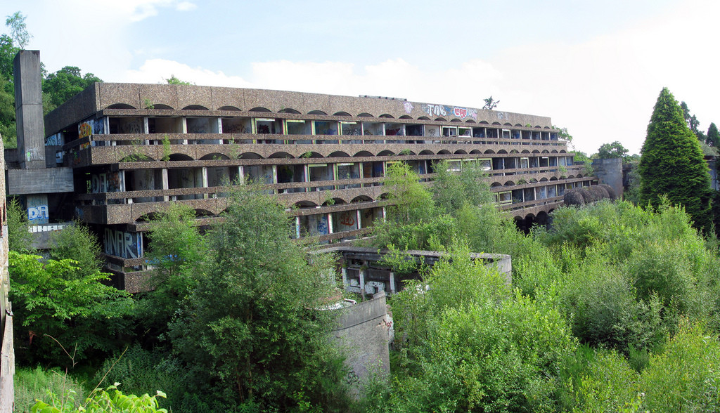 Scottish Charity Aims to Resurrect Brutalist Icon, © Flickr CC User Stuart Caie