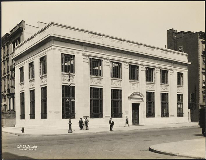 Apple Taps Bohlin Cywinski Jackson to Revamp Historic NYC Building, © Museum of the City via ifoAppleStore