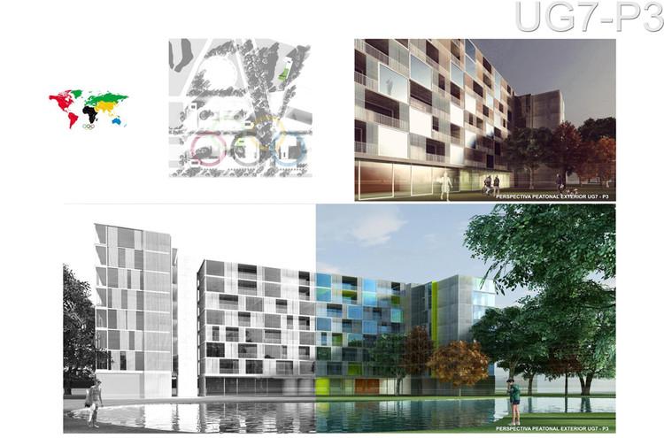 Segundo Lugar: Código J110. Image © Sociedad Central de Arquitectos (SCA)