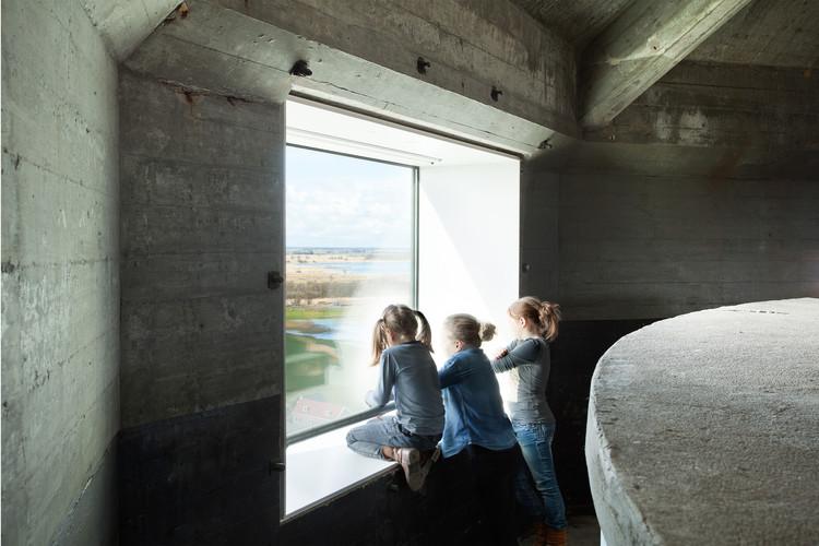 Torre de Vigilancia y de Agua Sint Jansklooster / Zecc Architecten . Image © Stijn Poelstra