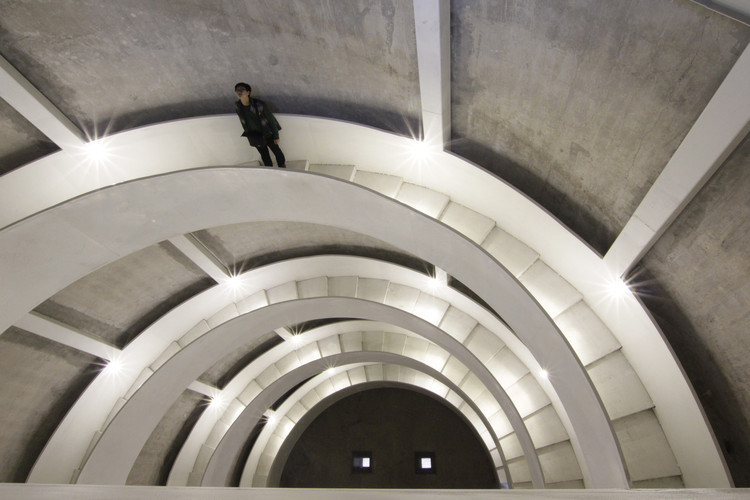 Reconversión de SZ-HK Biennale-Silo / O-OFFICE Architects . Image © O-office & Maurer United