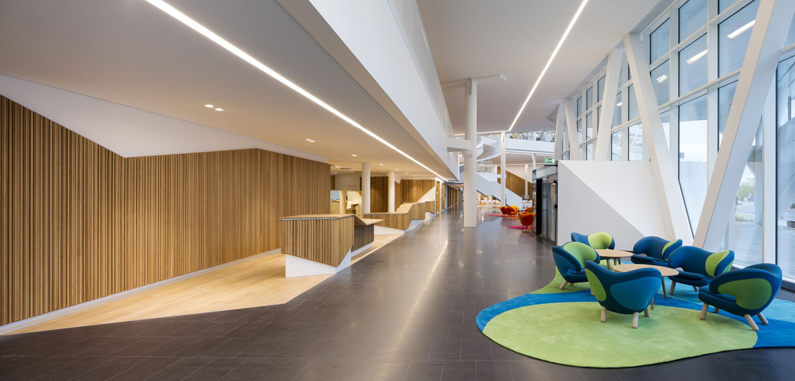 Gallery of swedbank 3xn 18 for Lloyds architecture planning interiors