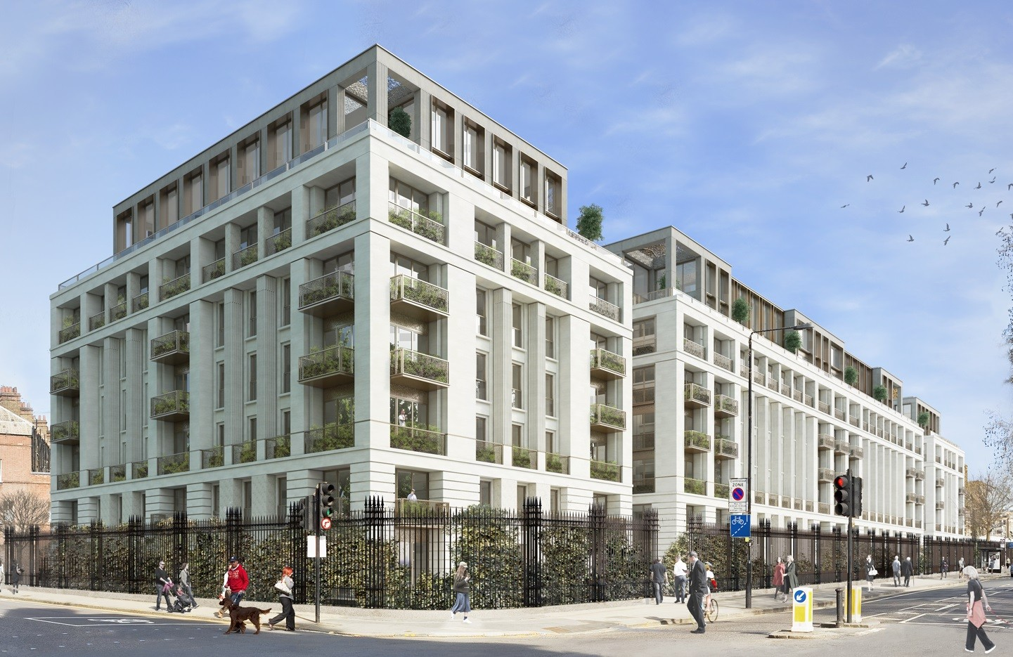 Planning Finally Granted for Chelsea Barracks Scheme, Courtesy of Squire and Partners