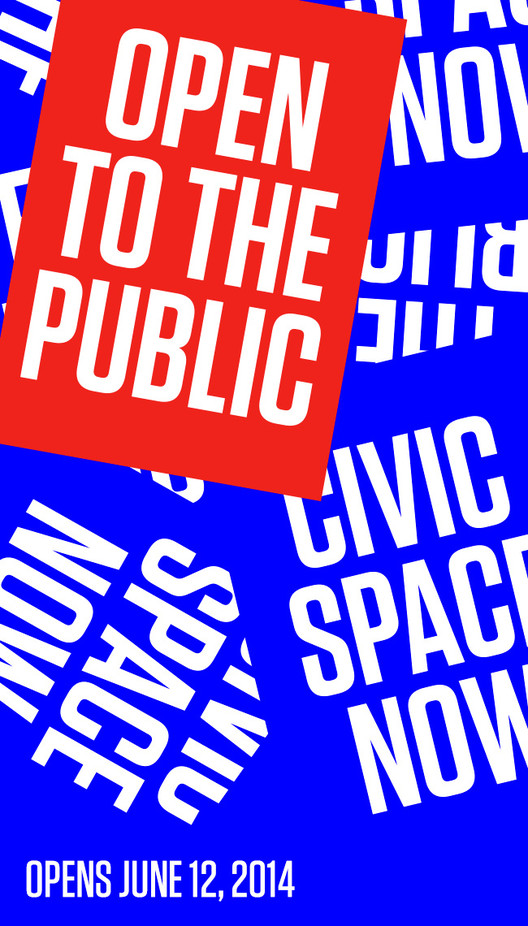 Exhibition / Open to the Public: Civic Space Now