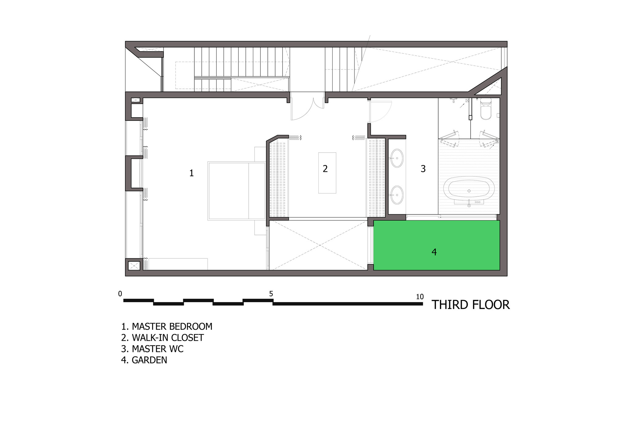 Gallery of folding wall house nha dan architect 3 on wall floor plan