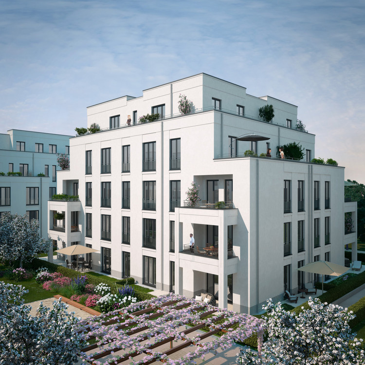 complejo habitacional park linn kister scheithauer gross architekten plataforma arquitectura. Black Bedroom Furniture Sets. Home Design Ideas