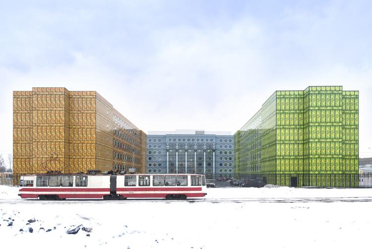 Conjunto de Temporadas / Tchoban Voss Architekten, © Aleksey Naroditsky