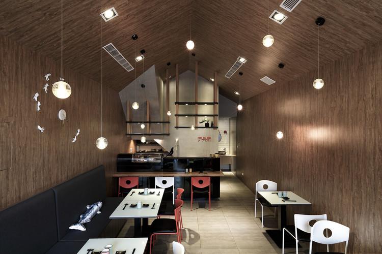 Uhee Sushi / House Design, © Joy Liu