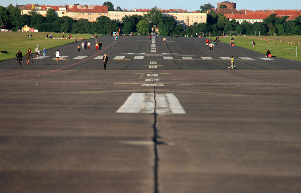Tempelhof Airport as it is Today. Image © Flickr CC User Isma Monfort Vialcanet