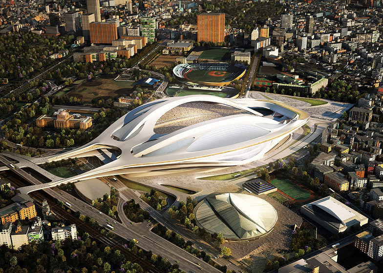 Japanese Architect Launches Second Petition Against Zaha Hadid's Tokyo Stadium, Courtesy of ZHA