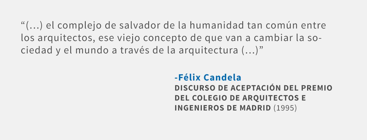 Frases: Félix Candela