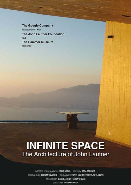 Arquitectura en el Cine: Infinite Space: La arquitectura de John Lautner / CCAU