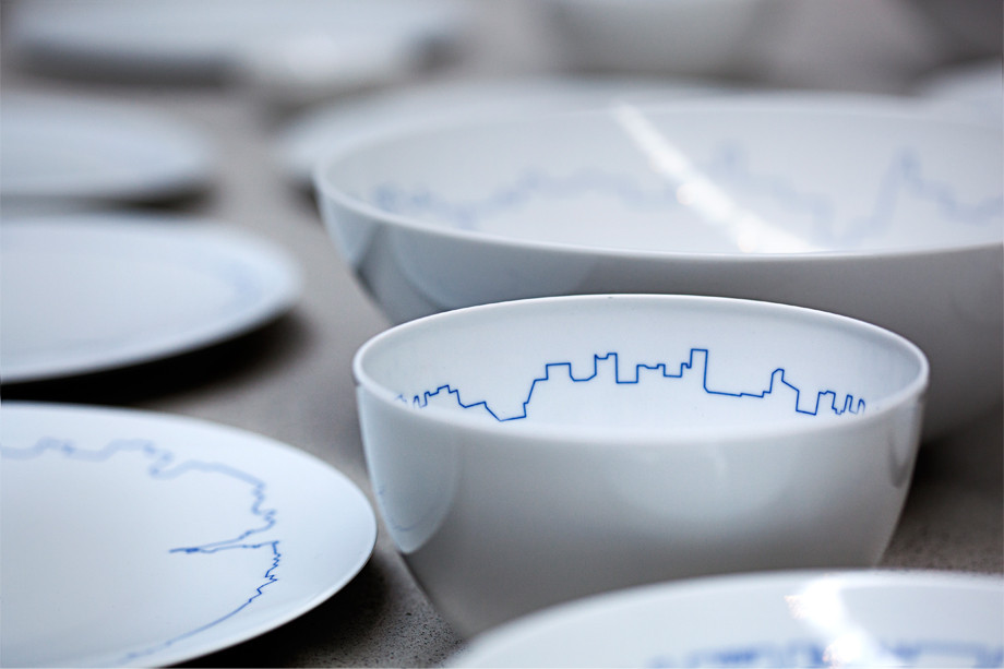 BIG and Kilo Redesign Gropius' Tableware Set , © BIG