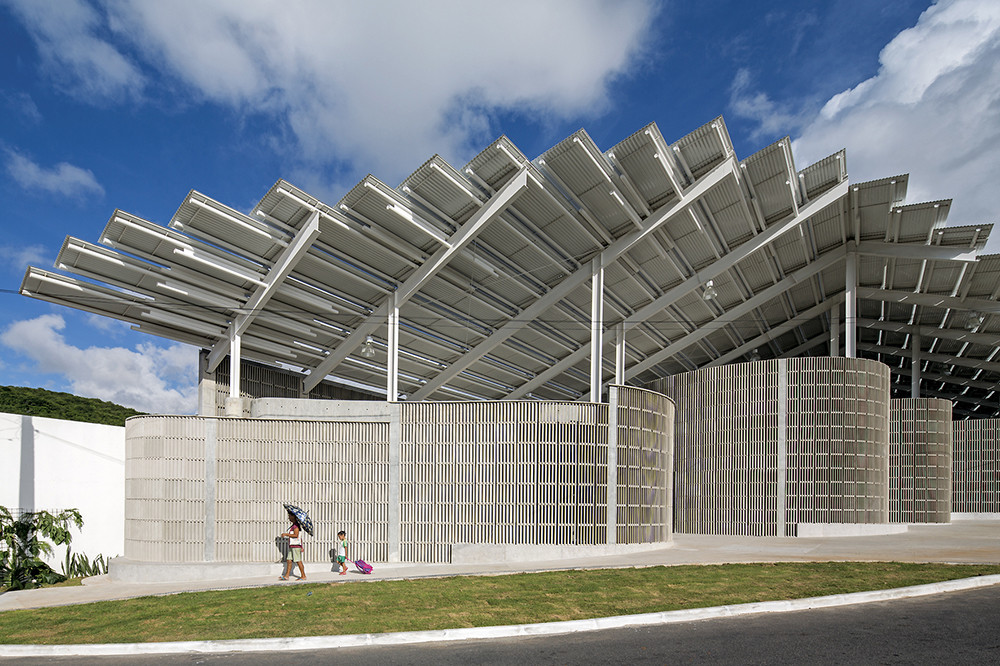 Arena do Morro de Herzog & de Meuron por Leonardo Finotti, © Leonardo Finotti