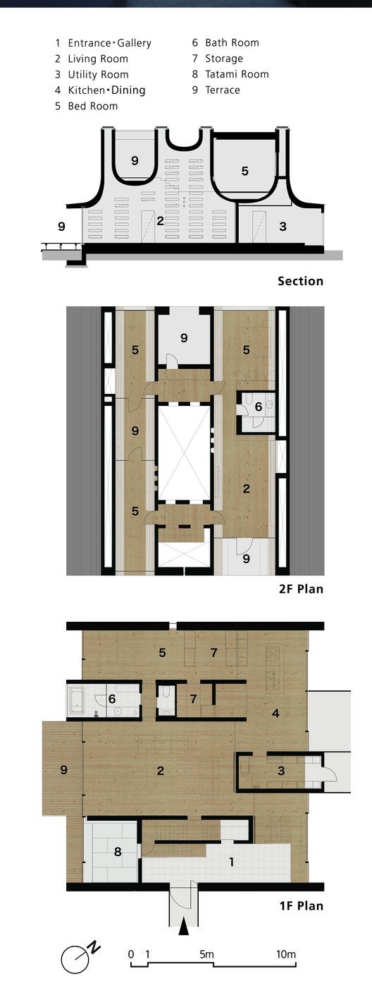 Floor Plan & Section