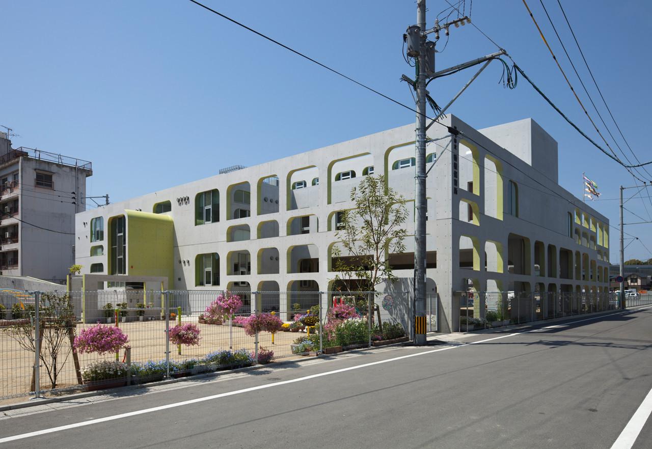 K Kindergaten / NKS Architects, © Kouji Okamoto