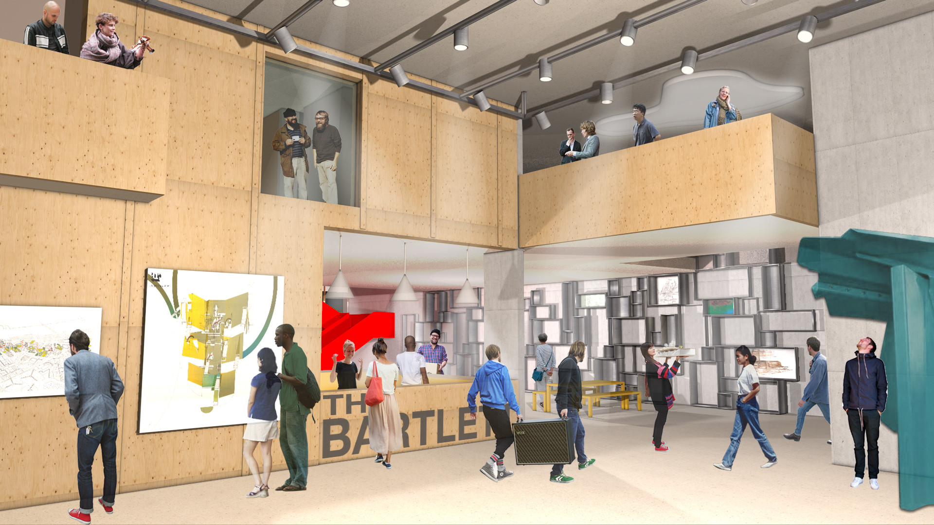 hawkinsbrown reveal plans for bartlett school revamp | archdaily