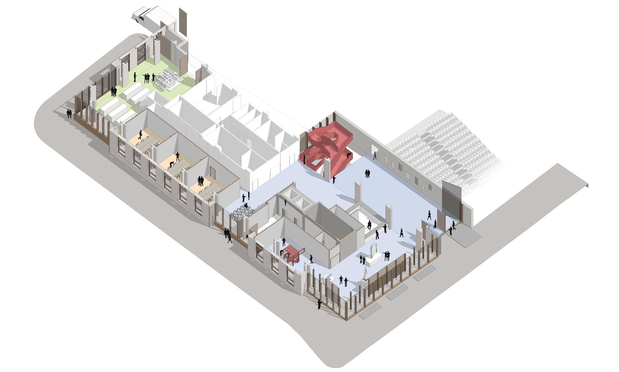 gallery of hawkinsbrown reveal plans for bartlett school revamp - 9