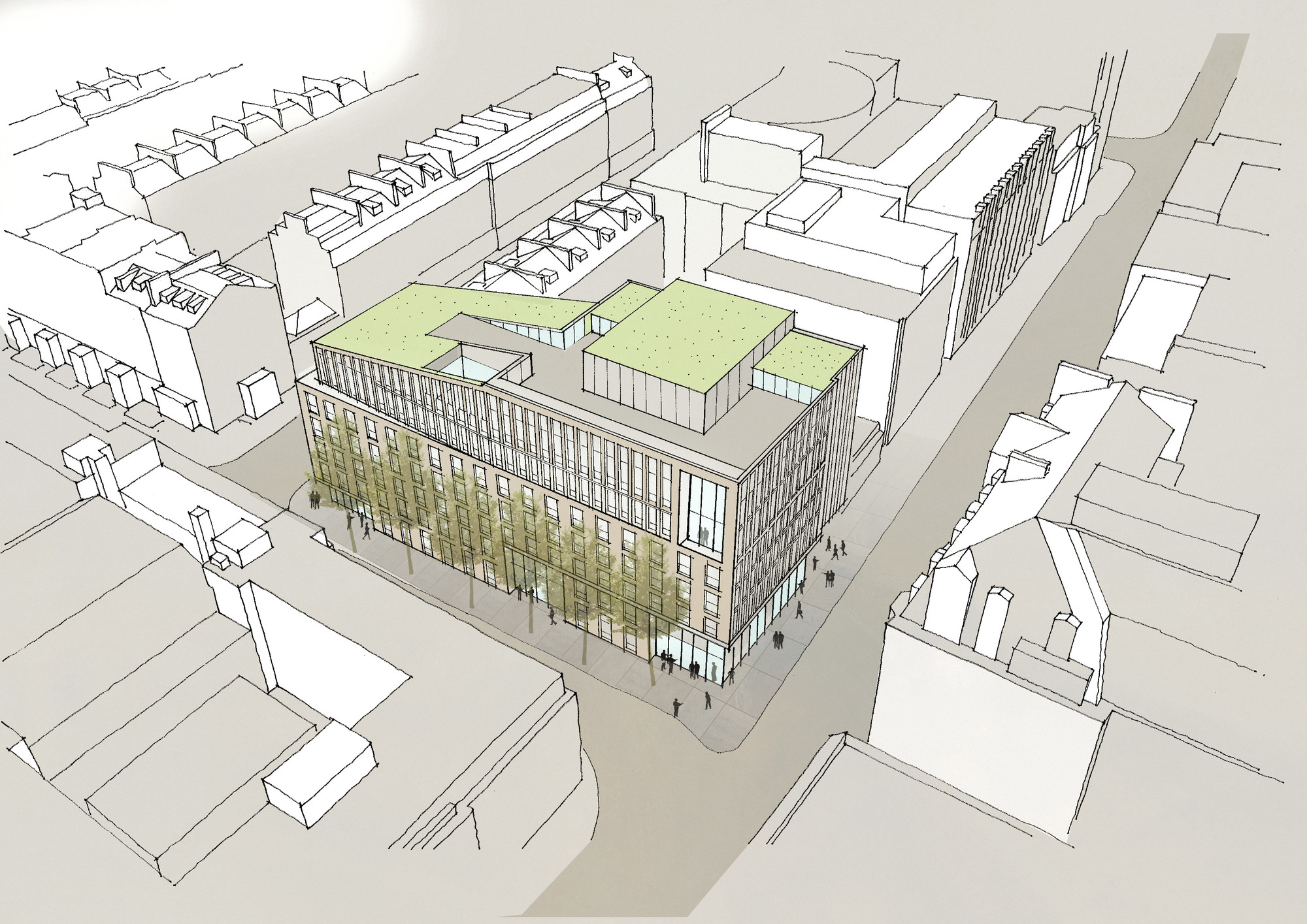 gallery of hawkinsbrown reveal plans for bartlett school revamp - 4