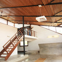 Reception interior Yoga Nikaya. Image Courtesy of mayaPRAXIS